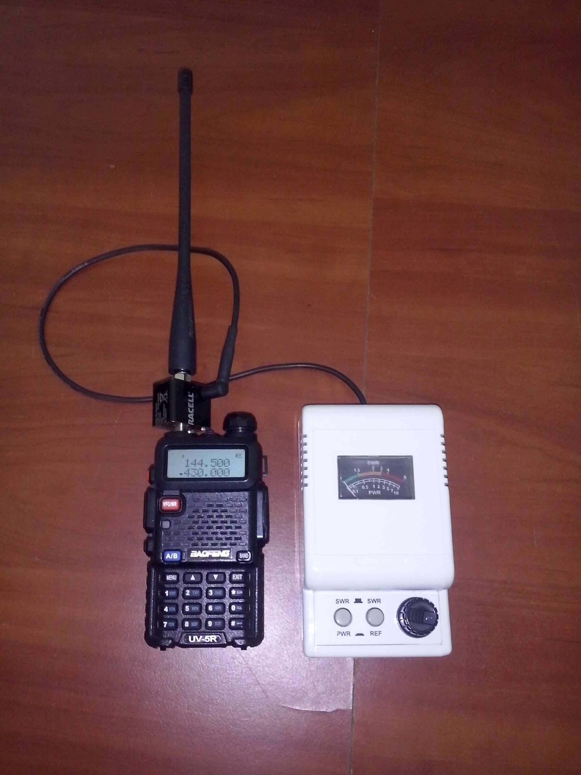 Swr Test Of Antennas For Baofeng Uv5r Diy Goodies