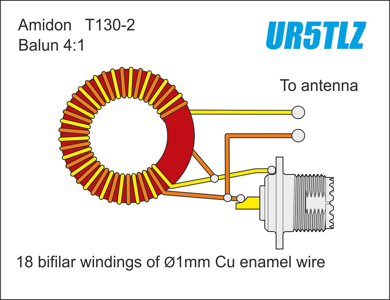 Colorful 2:1 Air Core Balun Inspiration - Electrical Diagram Ideas ...