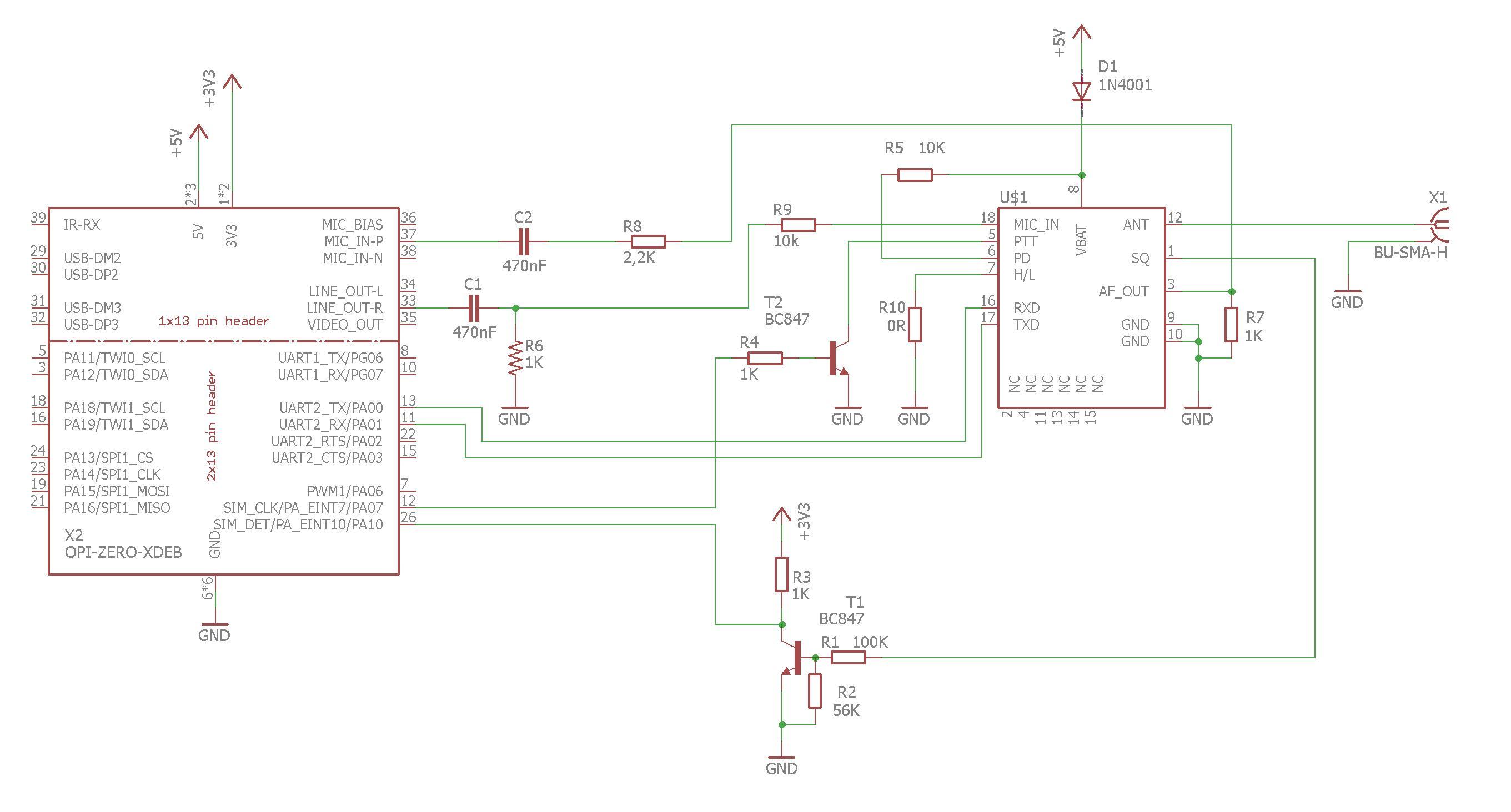 Orange PI zero Echolink node - DIY Goodies